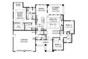 Ranch Style House Plan - 3 Beds 2.5 Baths 2000 Sq/Ft Plan #1010-212 Floor Plan - Main Floor