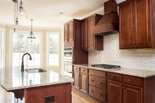 Traditional Interior - Kitchen Plan #927-28