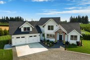 Farmhouse Style House Plan - 3 Beds 2.5 Baths 2878 Sq/Ft Plan #1070-10 Exterior - Front Elevation