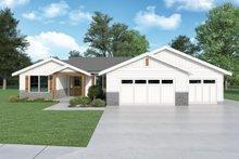 House Design - Craftsman Exterior - Front Elevation Plan #1070-143