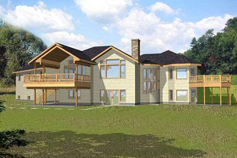 Bungalow Exterior - Front Elevation Plan #117-518 - Houseplans.com