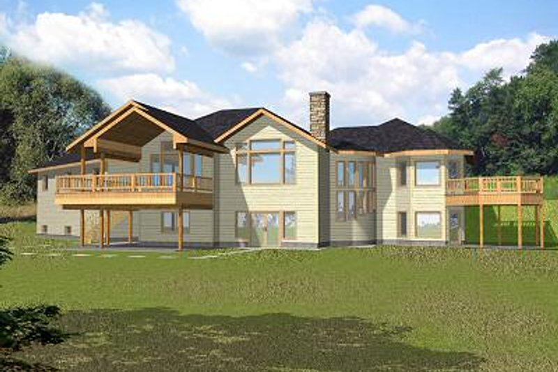 Home Plan - Bungalow Exterior - Front Elevation Plan #117-518