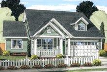 House Plan Design - Cottage Exterior - Front Elevation Plan #513-2089