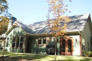 Craftsman Style House Plan - 3 Beds 2.5 Baths 2297 Sq/Ft Plan #437-52 Exterior - Rear Elevation