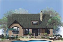 Ranch Exterior - Rear Elevation Plan #929-645