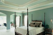 Dream House Plan - European Interior - Master Bedroom Plan #927-24
