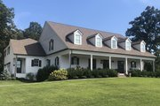 Country Style House Plan - 4 Beds 3.5 Baths 4469 Sq/Ft Plan #119-216 Exterior - Front Elevation