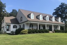 Country Exterior - Front Elevation Plan #119-216