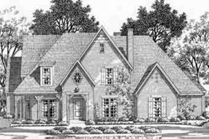 European Exterior - Front Elevation Plan #141-101