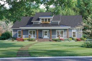 Farmhouse Exterior - Front Elevation Plan #21-462
