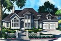 Mediterranean Style House Plan - 3 Beds 3 Baths 3599 Sq/Ft Plan #930-103 Exterior - Front Elevation