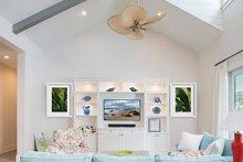 Dream House Plan - Cottage Interior - Family Room Plan #938-87