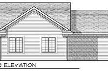 Country Exterior - Rear Elevation Plan #70-856