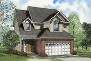 Traditional Style House Plan - 3 Beds 2.5 Baths 1841 Sq/Ft Plan #17-422 Exterior - Front Elevation