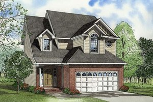 Traditional Exterior - Front Elevation Plan #17-422