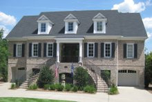 Dream House Plan - Classical Exterior - Front Elevation Plan #1054-52