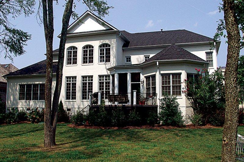 Colonial Exterior - Rear Elevation Plan #453-27 - Houseplans.com