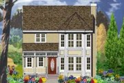 Victorian Style House Plan - 4 Beds 2.5 Baths 1569 Sq/Ft Plan #3-129 Exterior - Front Elevation