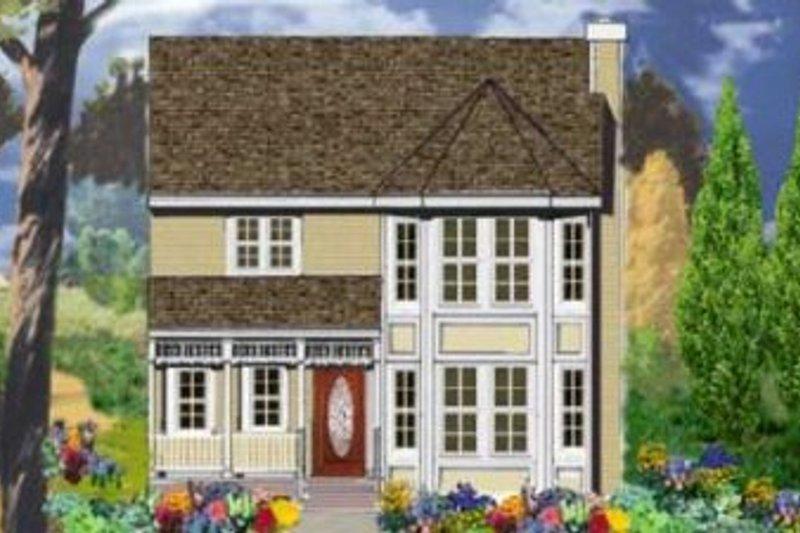 Dream House Plan - Victorian Exterior - Front Elevation Plan #3-129
