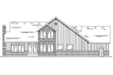 Dream House Plan - Country Exterior - Rear Elevation Plan #5-385
