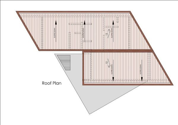Modern Floor Plan - Other Floor Plan Plan #467-2