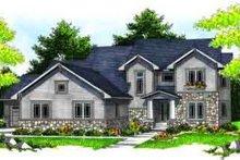 House Plan Design - Craftsman Exterior - Front Elevation Plan #70-630
