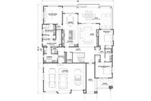 Ranch Floor Plan - Main Floor Plan Plan #1069-7