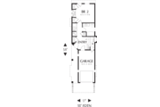 Craftsman Style House Plan - 2 Beds 2 Baths 1203 Sq/Ft Plan #48-569 Floor Plan - Main Floor