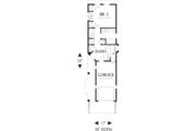 Craftsman Style House Plan - 2 Beds 2 Baths 1203 Sq/Ft Plan #48-569