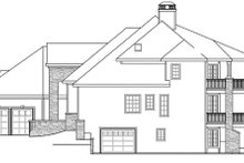 Dream House Plan - Exterior - Other Elevation Plan #124-884