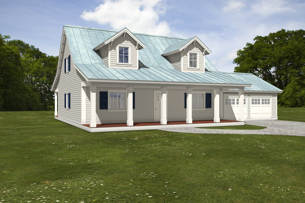 Farmhouse Style House Plan 3 Beds 3 5 Baths 2159 Sq Ft