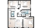 Cottage Style House Plan - 3 Beds 2 Baths 2085 Sq/Ft Plan #23-2713 Floor Plan - Lower Floor