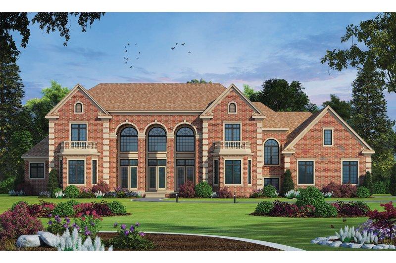 House Plan Design - European Exterior - Front Elevation Plan #20-2378