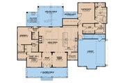 Farmhouse Style House Plan - 3 Beds 2.5 Baths 2120 Sq/Ft Plan #923-183 Floor Plan - Main Floor