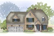 Farmhouse Style House Plan - 4 Beds 3.5 Baths 3161 Sq/Ft Plan #901-58 Exterior - Front Elevation