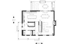 Country Floor Plan - Main Floor Plan Plan #23-2670