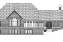 Dream House Plan - European Exterior - Rear Elevation Plan #70-783