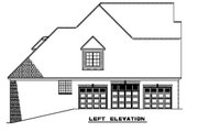 European Style House Plan - 5 Beds 3.5 Baths 3643 Sq/Ft Plan #17-2271 Exterior - Other Elevation