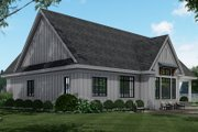 Farmhouse Style House Plan - 3 Beds 2.5 Baths 2364 Sq/Ft Plan #51-1159 Exterior - Rear Elevation