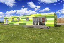 Dream House Plan - Modern Exterior - Front Elevation Plan #497-27