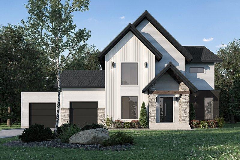 Farmhouse Style House Plan - 5 Beds 2.5 Baths 4270 Sq/Ft Plan #23-2751