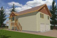 House Plan Design - Traditional Exterior - Front Elevation Plan #117-170
