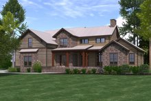 House Plan Design - Craftsman Exterior - Front Elevation Plan #1071-23