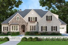 House Plan Design - European Exterior - Front Elevation Plan #927-31
