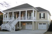 Country Style House Plan - 4 Beds 4.5 Baths 3820 Sq/Ft Plan #1054-34 Exterior - Front Elevation