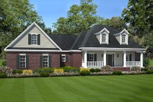 Home Plan - Southern Exterior - Front Elevation Plan #21-277
