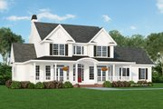 Farmhouse Style House Plan - 4 Beds 2.5 Baths 2506 Sq/Ft Plan #929-297 Exterior - Front Elevation