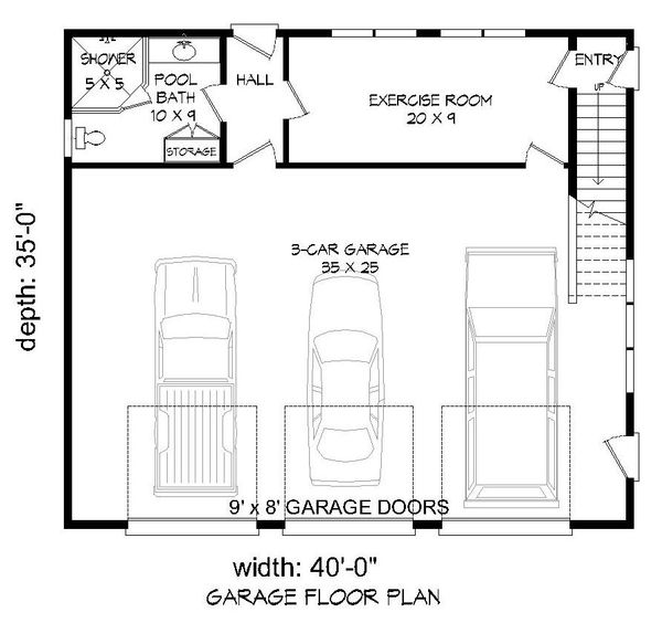 Country Floor Plan - Main Floor Plan Plan #932-183