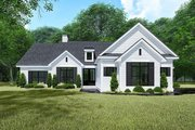Traditional Style House Plan - 4 Beds 2.5 Baths 1967 Sq/Ft Plan #923-150 Exterior - Front Elevation