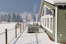 House Design - Traditional Exterior - Outdoor Living Plan #1060-95
